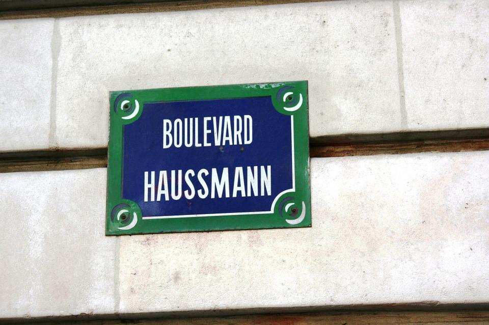 Le Boulevard Haussmann