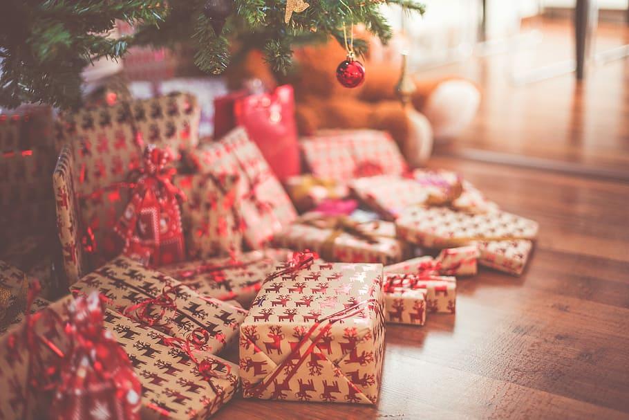 La décoration du sapin de Noël