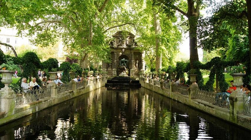 Plan Jardin du Luxembourg
