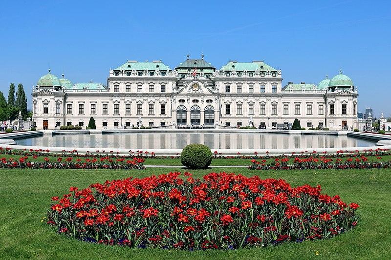 Le Belvédère à Vienne, Autriche
