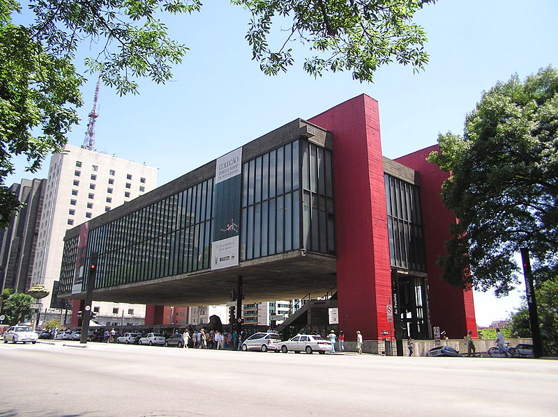 Le MASP à Sao Paulo, Brésil