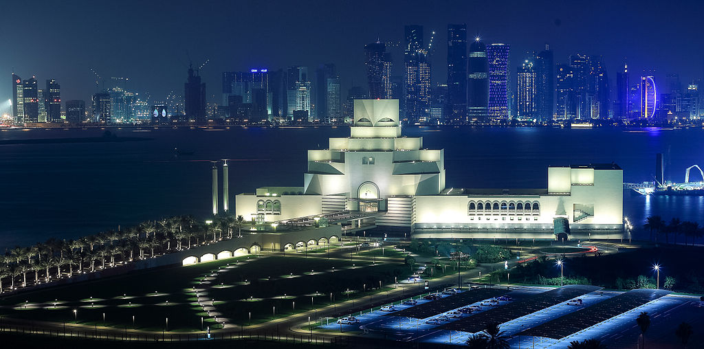 Le Musée d'art islamique a Doha, Qatar