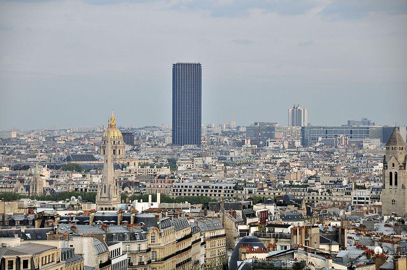 Où se trouve la tour Montparnasse?