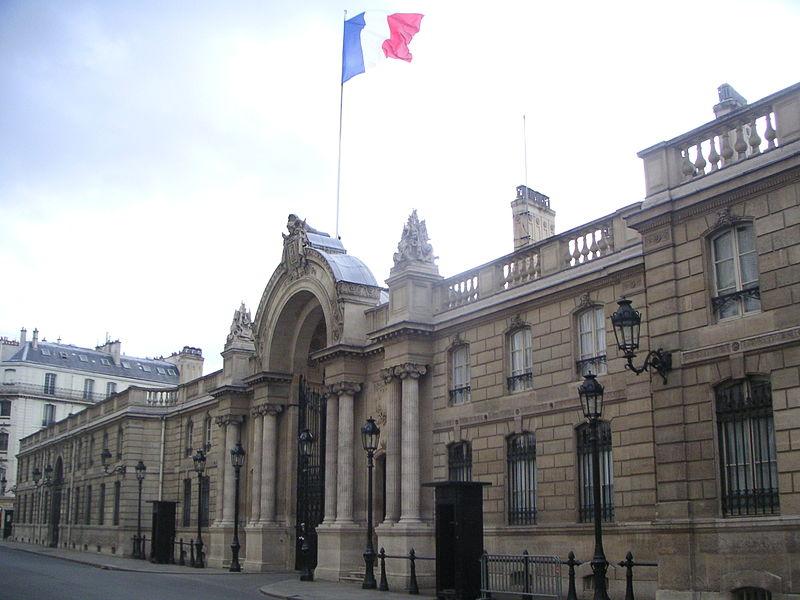 Histoire du Palais d'elysée