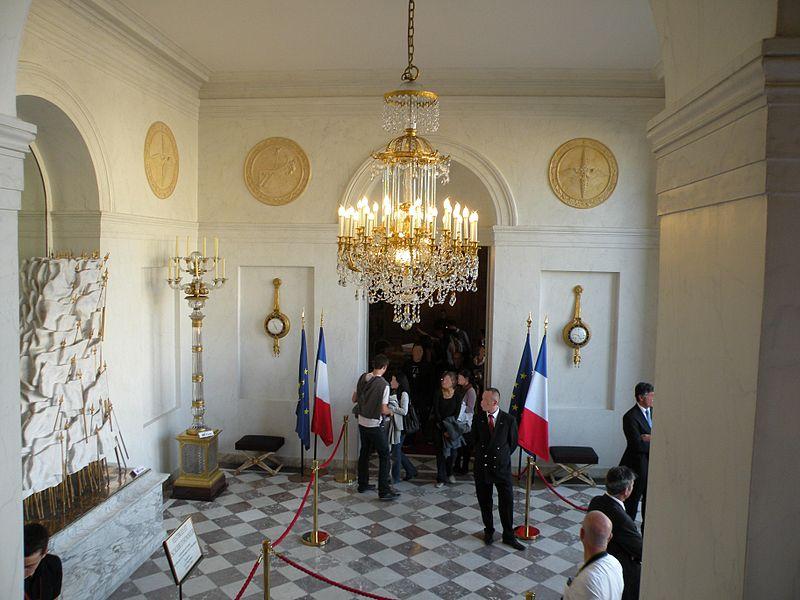 Vestibule d'honneur du Palais d'elysée