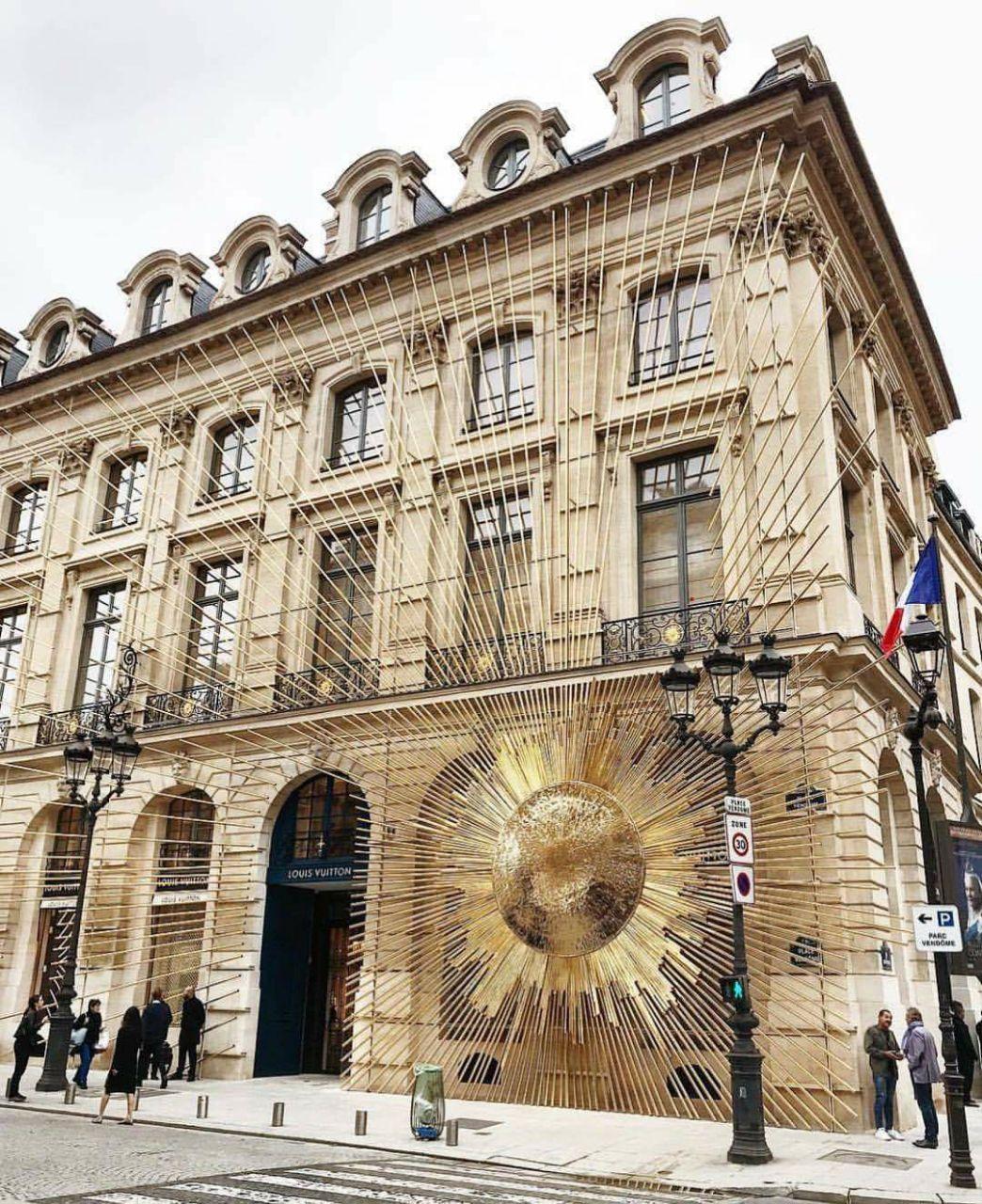 La place Vendôme, centre du luxe à Paris