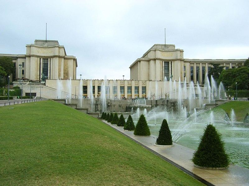 La fontaine du Trocadéro