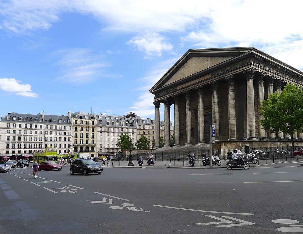 Les bâtiments incontournables de la Place de la Madeleine