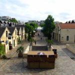 Traîner les pieds au Bercy Village